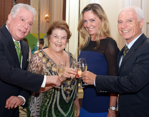Chicô Gouvêa, Anna Ramalho, Márcia Veríssimo e Alexandre Ibitinga