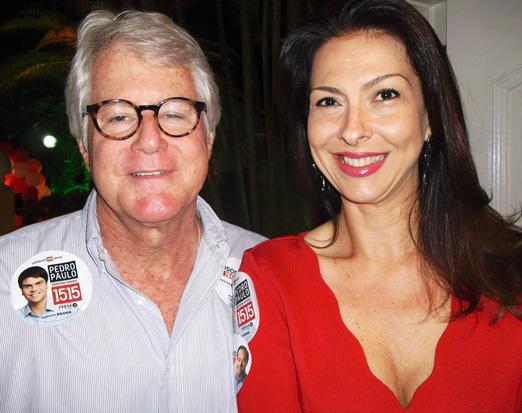 Chico e Mylene Peltier