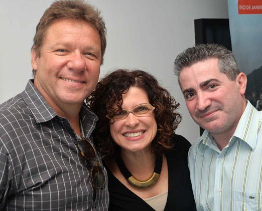 Claude Troisgros, Flávia Quaresma e David Jobert