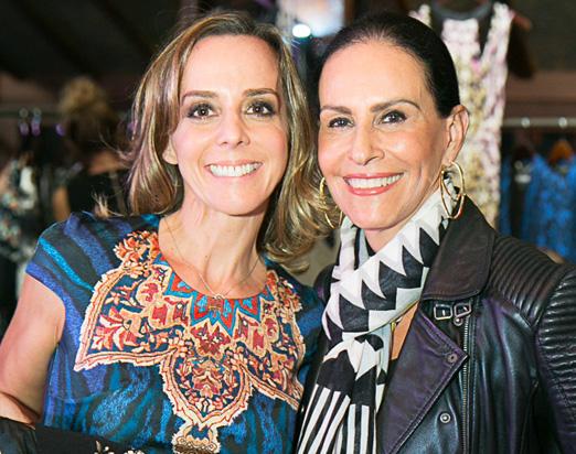 Daniela Farah e Beth Pinto Guimarães
