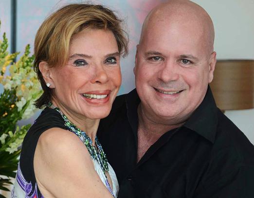 Gilsse Campos e Eder Meneghine