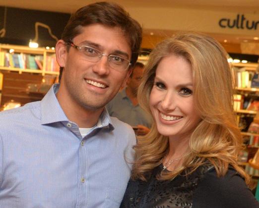 Rodolfo Schneider e Leticia Levy