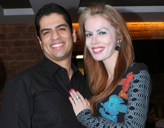 Rodrigo Raposo e Giovana Priolli