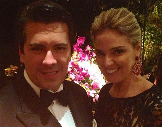 André Ramos e Vanessa de Oliveira