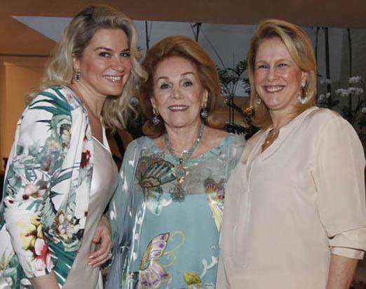 Carla Benchimol, Idinha Seabra Veiga e Glória Severiano Ribeiro