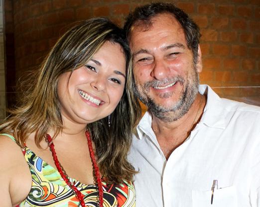 Danielle Paiva e Luis Carlos Schwarz