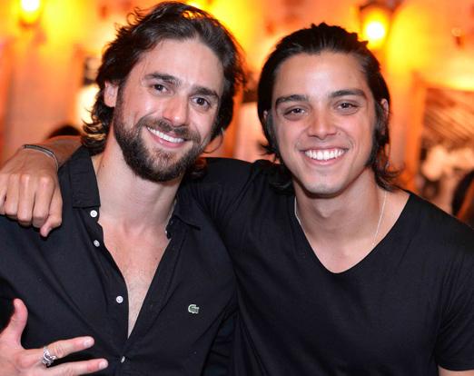 Danilo Sacramento e Rodrigo Simas