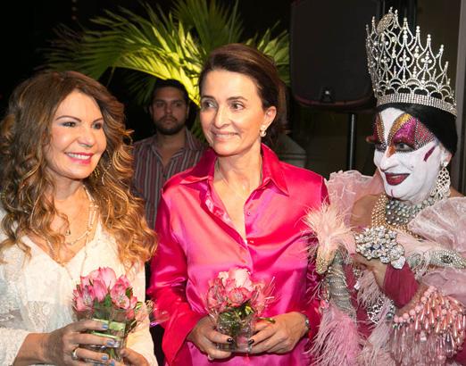 Elba Ramalho, Andrea Natal e Isabelita dos Patins