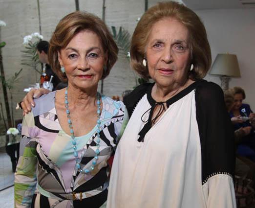 Helenita e  Glorinha Paranaguá
