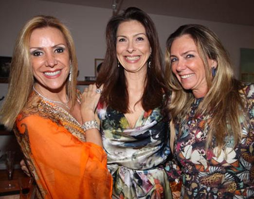 Isabela, Mylene e Márcia