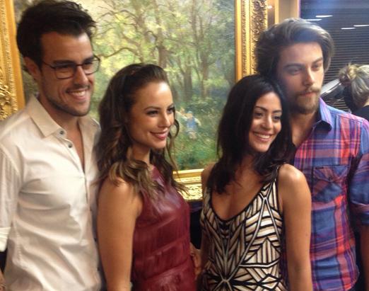 Joaquim, Paola, Carol e Raphael
