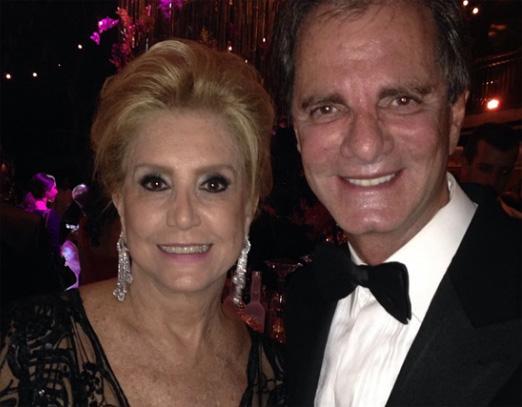 Madeleine Saade e Edgar Moura Brasil