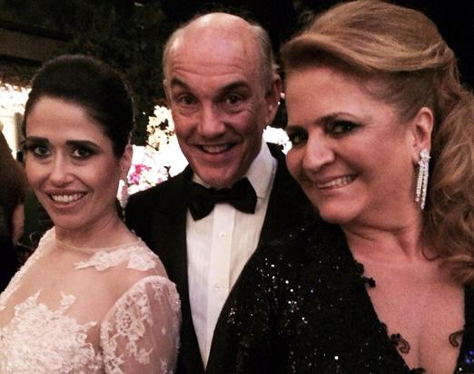 Paulinha com Paulo e Renata