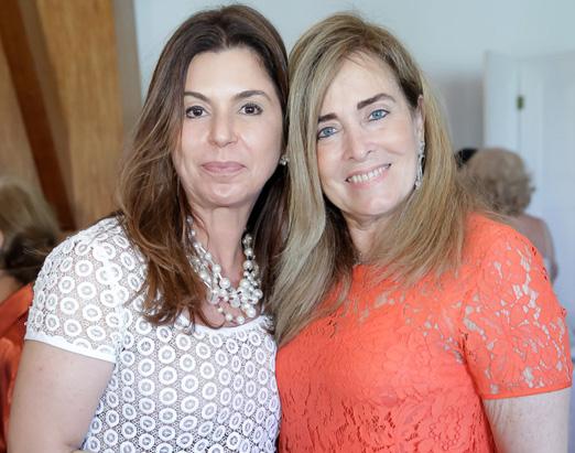 Raquel Verri e Leila Albuquerque