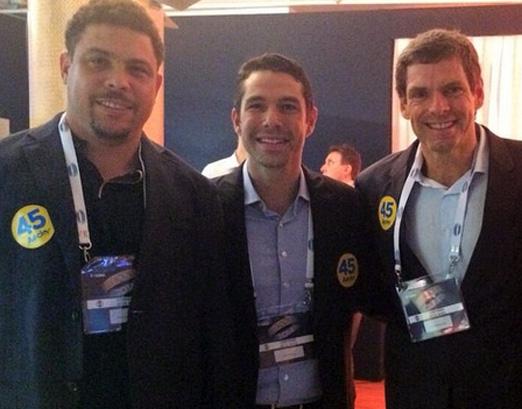 Ronaldo, Marcus e Accioly