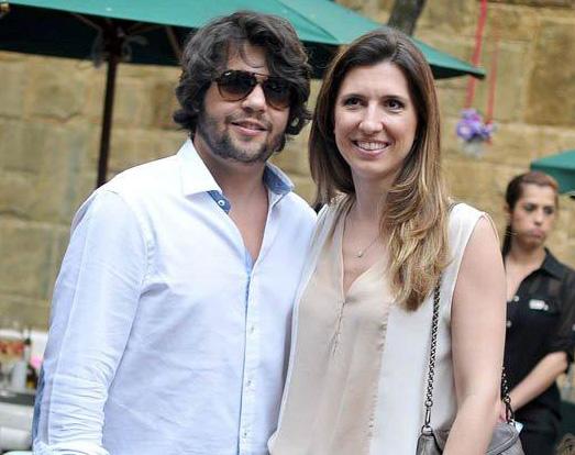 Tiago Pacheco e Constance Zahn