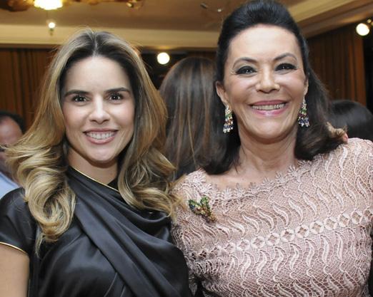 Ana Paula Carneiro e Beth Szafir