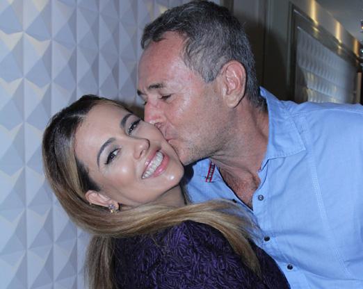 Ariadne Coelho e Luiz Saucha