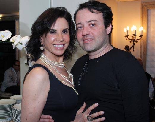 Cláudia Alencar e Gustavo Gonçalves