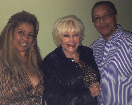 Cristina, Linda e Amaro