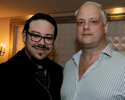 Diego Cosac e o DJ Sergi Insomnia
