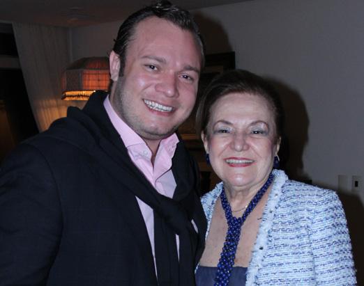 João Anderson Chamarelli e Lucy Sá Peixoto