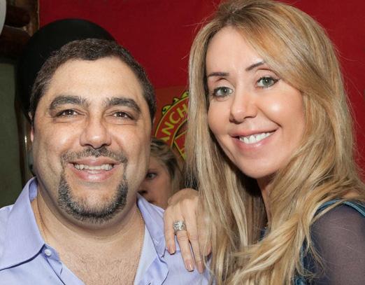 Marcelo Badin e sua mulher Tania