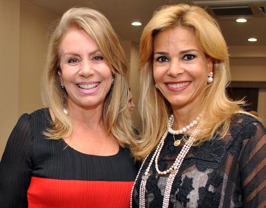 Marise Gollo e Manoela Ferrari