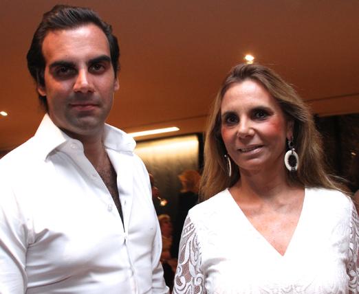 Alexandre Furmanovich e a mãe Silvia