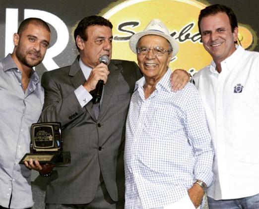 Diogo, Jorge, Monarco e Eduardo Paes