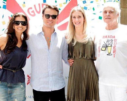 Fernanda Suplicy, Betto Pacheco, Denise Andrade e Roberto Suplicy