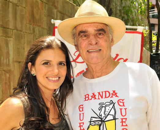 Fernanda e Roberto Suplicy