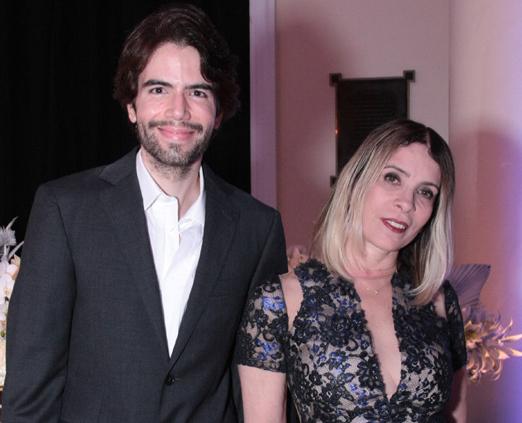Luiz Fernando Coutinho e Liege Monteiro