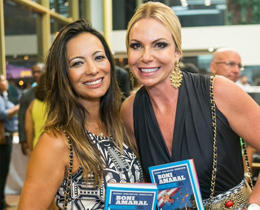 Marcia Romão e Nina Kauffmann