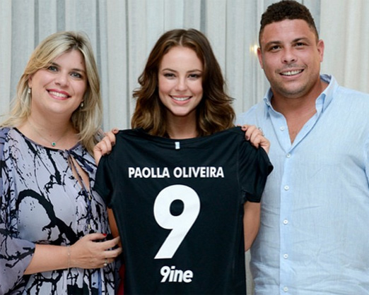 Mariana, Paolla e Ronaldo