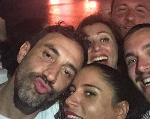 Riccardo Tisci, Marina Morena e amigos