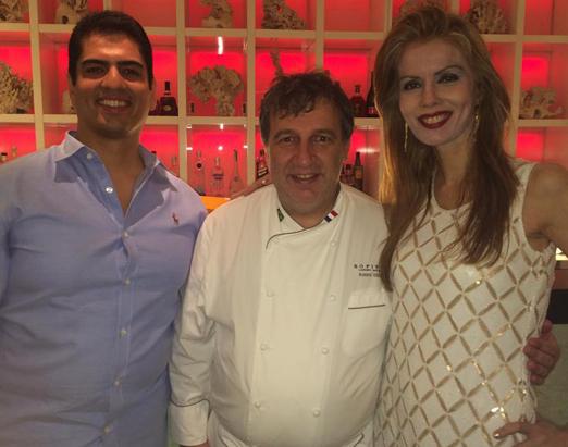 Rodrigo, Roland e Giovanna