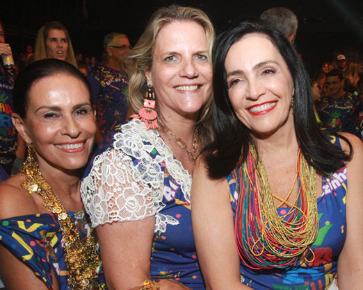 Beth Pinto Guimarães, Maninha Barbosa e Liliana Rodriguez
