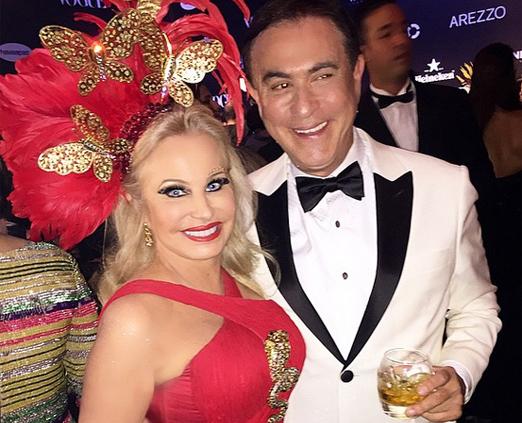 Brunete Fraccaroli e Amaury Jr