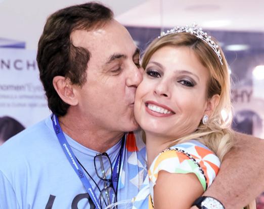 Ricardo Rique e Eliane