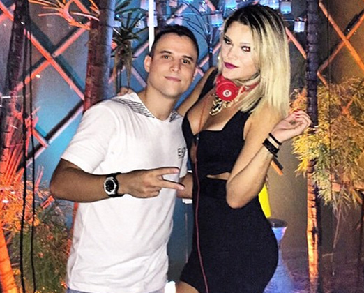 Artur Barbosa e DJ Marcela Moura