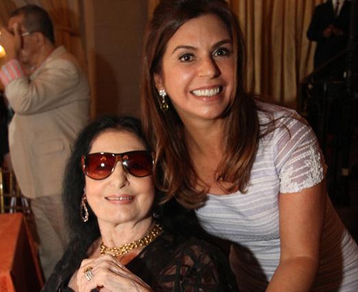 Carmen Mayrink Veiga e Raquel Verri