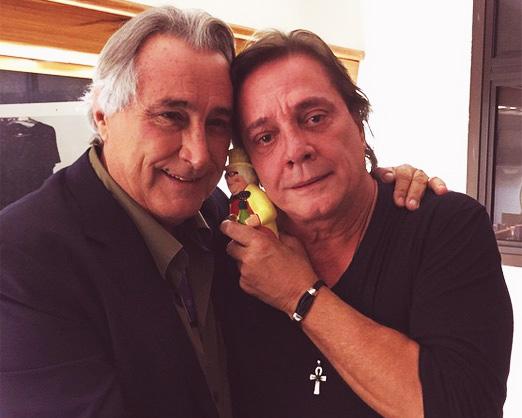 Leleco Barbosa e Fábio Jr