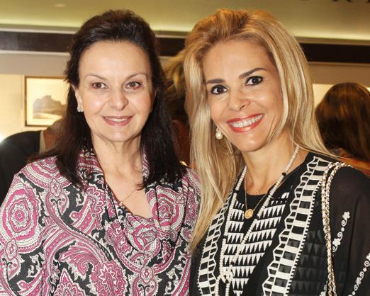 Monica Faria e Manoela Ferrari