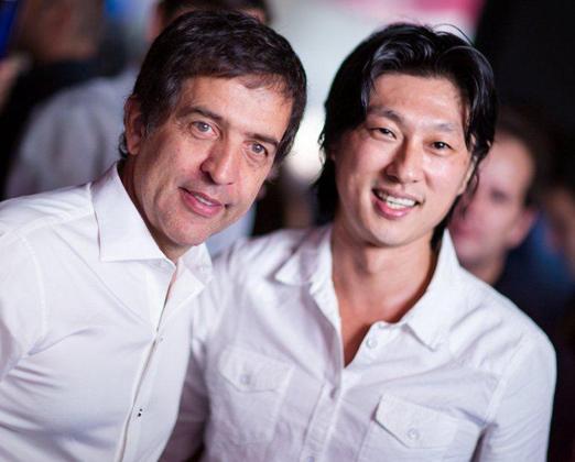 Ricardo Almeida e Marcelo Yura