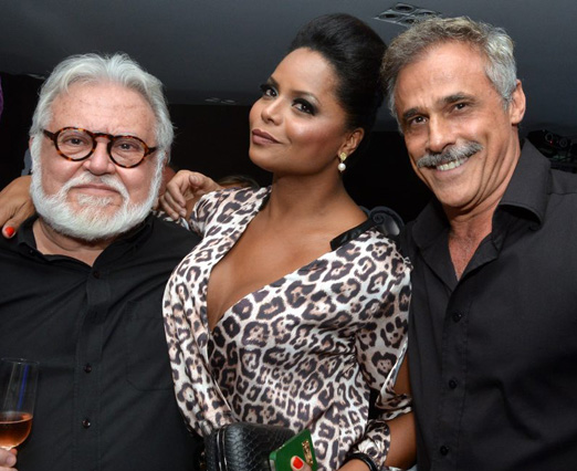 Ricardo Amaral, Adriana Bombom e Oscar Magrini