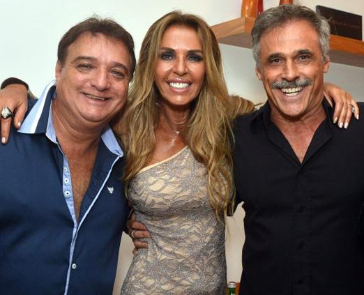 Ricardo Pimenta, Nina Stevens e Oscar Magrini
