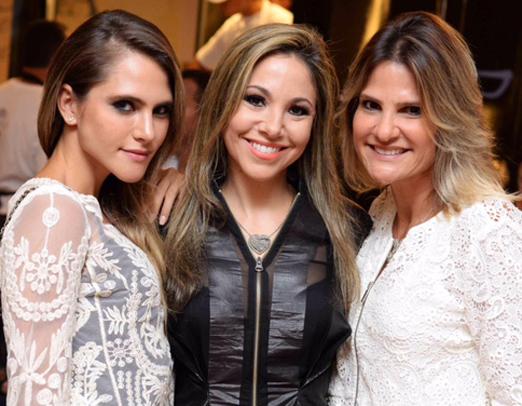 Wanda Grandi, Alessandra Amaral e Adriana Indelli