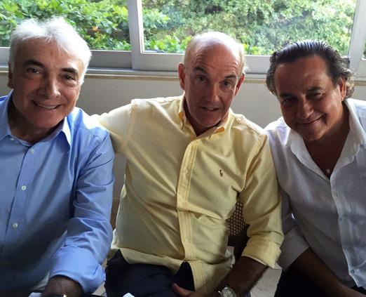 Edmar Fontoura, Paulo Fraga e Nestor Rocha