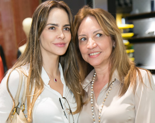 Gabriella Vasconcellos e Sumaya Neves